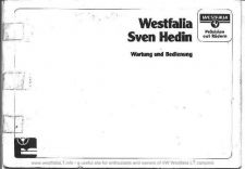 Buy Volkswagen LT 1986 WestfaliaSvenHedinInstructionManual by download #333746