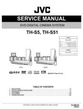 Buy JVC TH-S5- TH-S51 Service Manual by download Mauritron #284010