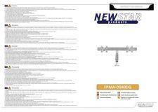 Buy Newstar FPMA D940DG Audio Visual Instructions by download #333524