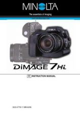 Buy Konica D 7HI E Camera Operating Guide by download Mauritron #320663