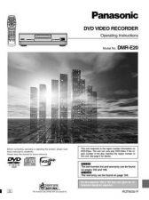 Buy Panasonic DMR-E20 MANUAL 2. CDC-PAN13 Manual by download Mauritron #298920