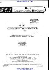 Buy GEC BRT400D Manual_ by download Mauritron #307104