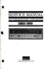 Buy Sansui 5000X Service Manual by download Mauritron #315052