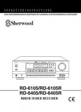 Buy Sherwood RD6105(Spanish) Operating Guide by download Mauritron #316266
