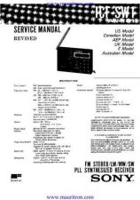 Buy Sony ICF-C233 Service Manual by download Mauritron #315821
