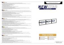 Buy Newstar FPMA WTB050 Audio Visual Instructions by download #333578