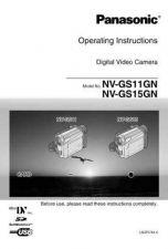 Buy Panasonic NV-GS11GC-GK Manual by download Mauritron #300750