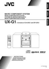 Buy JVC UX-G1-22 Service Manual by download Mauritron #277060