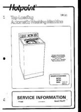 Buy Hotpoint 9600 Service Manual by download Mauritron #332012