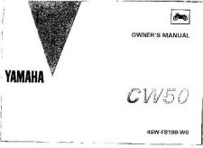Buy Yamaha 4SW-F8199-W0 Scooter Manual by download #334336