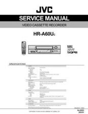 Buy JVC HR-A60U Service Manual by download Mauritron #281315
