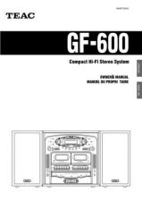 Buy Teac GF650QuickGuideEFS Operating Guide by download Mauritron #318775