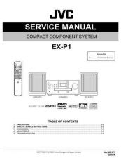 Buy JVC EX-P1-7 Service Manual by download Mauritron #274073