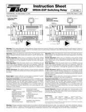 Buy Honeywell Taco Sr506expmanual by download Mauritron #318136
