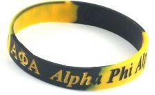 Buy Alpha Phi Alpha Silicone Bracelet