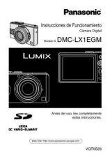 Buy Panasonic DMC-LX1EB Manual by download Mauritron #298861