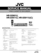 Buy JVC HR-S5911U Service Manual Circuits Schematics by download Mauritron #274453