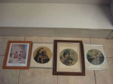 Buy INDIAN PICTU RES Horses Chiefs PRINTS ROCKWELL MUSEUM PRINTS FRAMED VINTAGE
