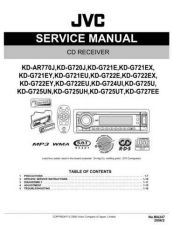 Buy JVC KD-G720 Service Manual by download Mauritron #275020