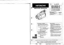 Buy Hitachi VME55A VM-H57A Service Manual by download Mauritron #291094