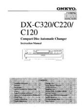 Buy Onkyo DXC330om Service Manual by download Mauritron #330879
