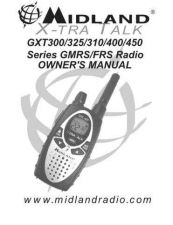 Buy Midland GXT325VP3 2 Way Radio Operating Guide by download Mauritron #317538
