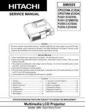 Buy Hitachi CPX1200 Service Manual by download Mauritron #289206