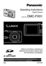 Buy Panasonic DMC-FX01----- Manual by download Mauritron #298709