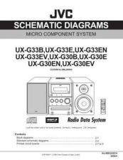 Buy JVC UX-G33-8 Service Manual by download Mauritron #284215