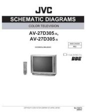 Buy JVC AV-27D305 SCH Service Manual by download Mauritron #278890