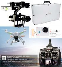 Buy Walkera GPS FPV QR X350 PRO DEVO F7 & ilook HD Camera & G-2D Gimbal & Alu Case
