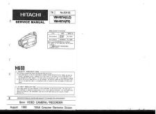 Buy Hitachi VMH725LA Service Manual by download Mauritron #286972