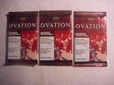Buy 3 new 1999 UPPER DECK OVATION baseball PACK - sealed