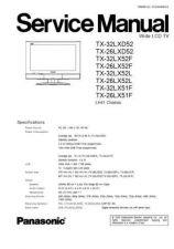 Buy Panasonic TX-W32D4DP Manual by download Mauritron #302544