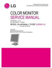 Buy LG L1510SF Service Manual by download Mauritron #322494