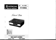 Buy Hitachi TK-1662E-2 Service Manual by download Mauritron #286276