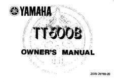 Buy Yamaha 3SW-28199-20 Motorcycle Manual by download #334169