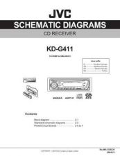 Buy JVC KD-G411-19 Service Manual by download Mauritron #281950