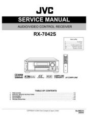 Buy JVC RX-7042S Service Manual by download Mauritron #283211