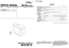 Buy Sony KVXG25M8J Service Manual by download Mauritron #329964