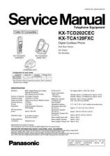 Buy Panasonic TCD202CE Manual by download Mauritron #301955