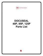 Buy Office Equipment DOC40P 95P 125P PARTS by download #335407