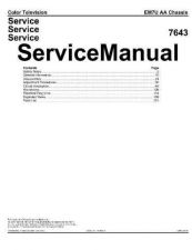 Buy Philips EM7U Service Manual by download Mauritron #332712