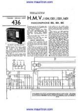 Buy HMV 1601 Wireless Service Manual by download Mauritron #326738