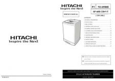 Buy Hitachi SF-60D 220-VT Service Manual by download Mauritron #286191