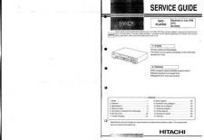 Buy Hitachi DVP313U Service Manual by download Mauritron #285257