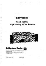 Buy Eddystone 1650-7 Service Manual by download Mauritron #316495