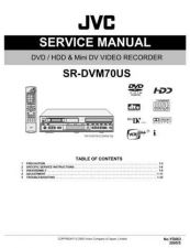 Buy JVC SR-DVM70US Service Manual by download Mauritron #283573