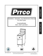 Buy Pitco L20-072 Instructions by download #333633