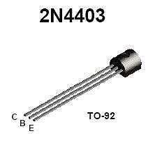 Buy Transistor - 2N4403 PNP (TO-92) - 30 Pieces
